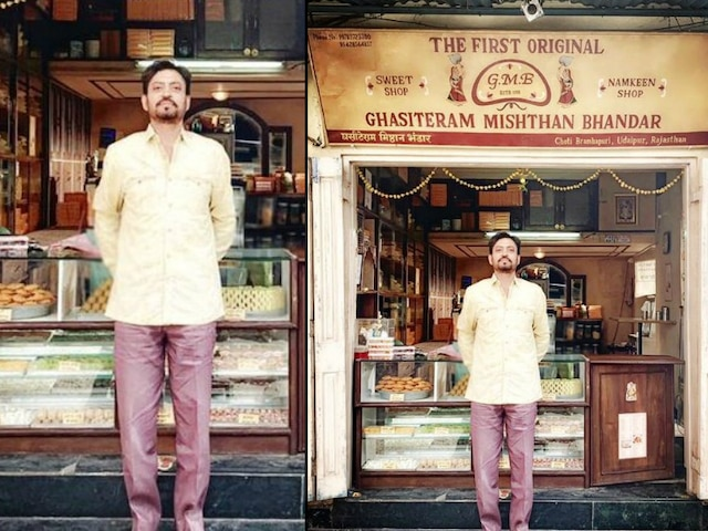 Angrezi Medium, Irrfan Khan shares his first look as sweet shop owner Mr Champakji from the sequel of Hindi Medium