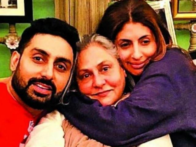 Abhishek Bachchan, Shweta Bachchan wish 'captain' Jaya Bachchan on 71st birthday!