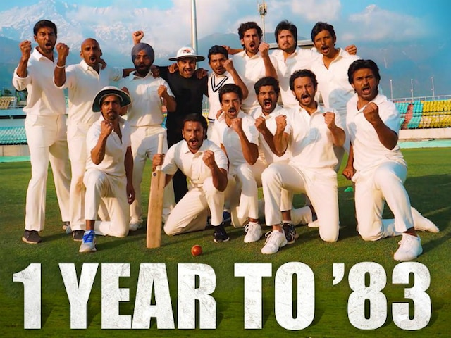 83 first look - Ranveer Singh shares picture with the film's cast, Reveals release date of Kapil Dev's biopic!