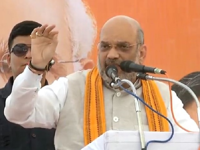 Naxal attack in which BJP MLA was killed a 'political conspiracy' Amit Shah