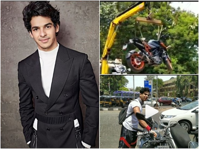 Dhadak actor Ishaan Khatter bike gets towed as he parks in no parking zone (VIDEO)