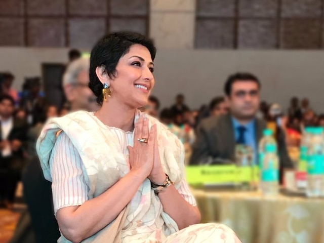 Sonali Bendre on cancer Early detection of disease is important
