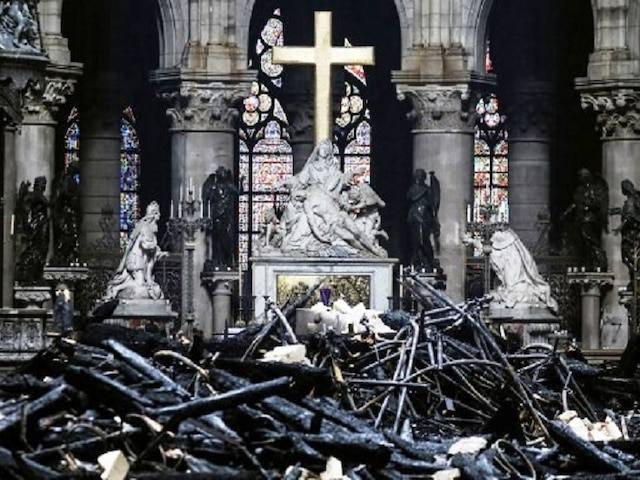 Notre-Dame cathedral will be rebuilt in