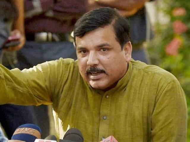 AAP leader Sanjay Singh repudiates exit polls, Demands cancellation of polls over mismatch of VVPAT, EVM