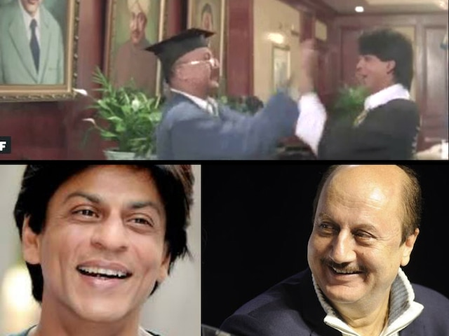 SRK, Anupam Kher bond on Twitter over DDLJ