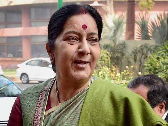 Sushma Swaraj tweets as Indian in Riyadh threatens to commit suicide