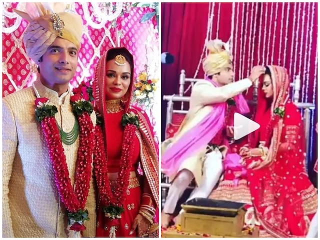 After anand karaj, Ssharad Malhotra & Ripci Bhatia get married again following Hindu rituals! SEE PICS & VIDEOS!
