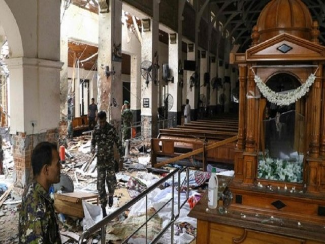 Sri Lankan police arrests 13 men in connection with serial bomb blasts on Easter Day
