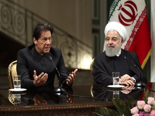 In Tehran, Imran Khan confesses terrorists used Pakistan's soil against Iran, comes under intense opposition attack