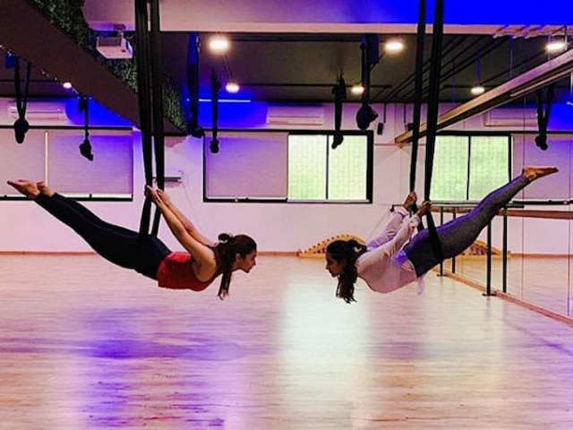 Alia Bhatt's picture doing aerial yoga will give you ultimate fitness goal!