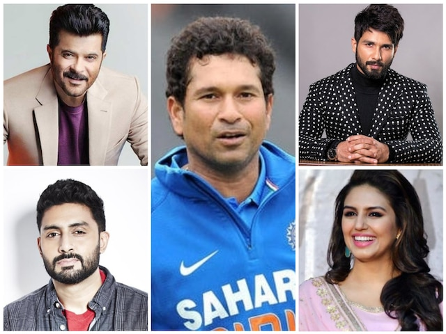 B-Town celebs wish iconic cricketer Sachin Tendulkar on his 46th birthday!