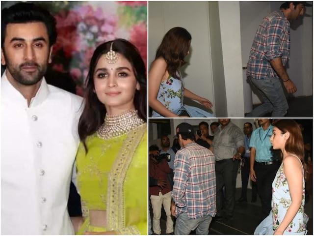'Brahmastra' actors Ranbir Kapoor & Alia Bhatt watch Avengers Endgame on movie date (PICS & VIDEO)