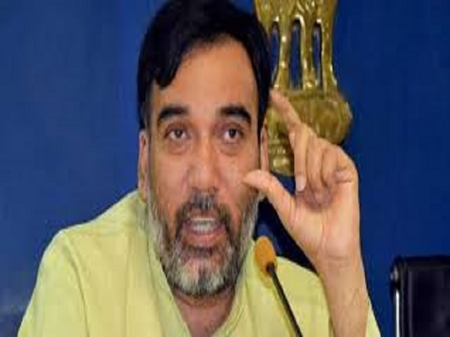 Police file complaint against AAP's Gopal Rai for public meeting without permission