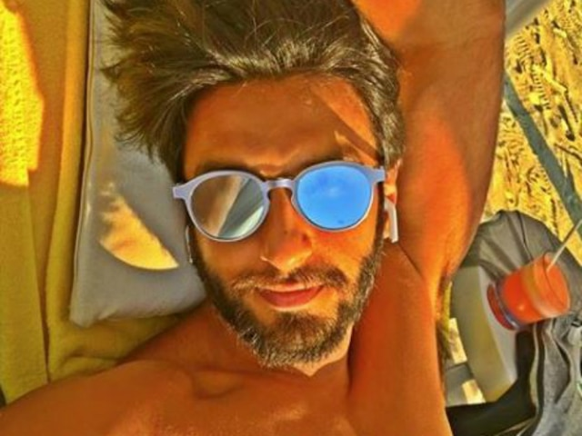 Ranveer Singh's latest picture gives out lazy weekend vibes!