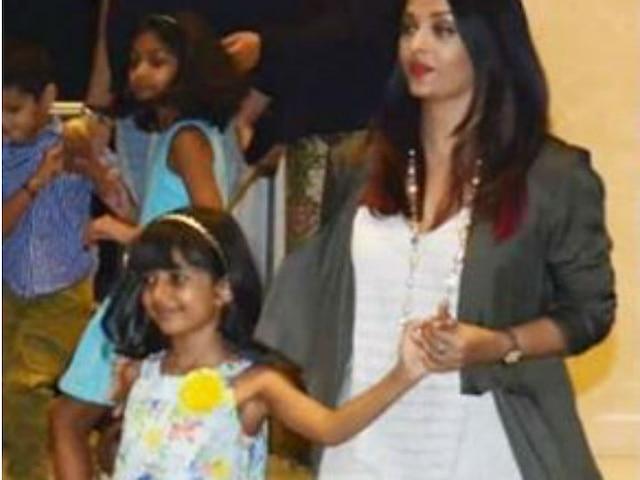 Aishwarya Rai Bachchan brutally trolled for holding daughter Aaradhya Bachchan's hand yet again!