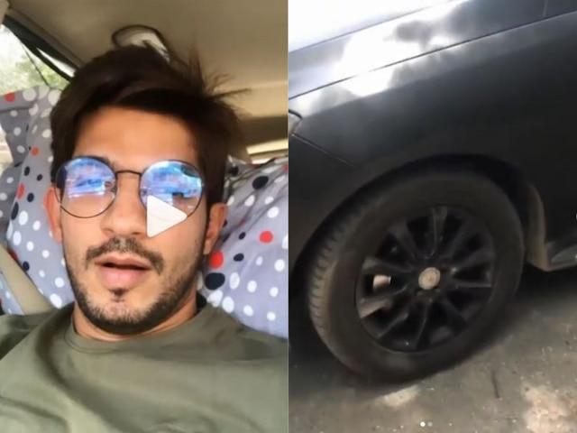 Ishq Mein Marjawan TV Actor Arjun Bijlani escapes a major accident