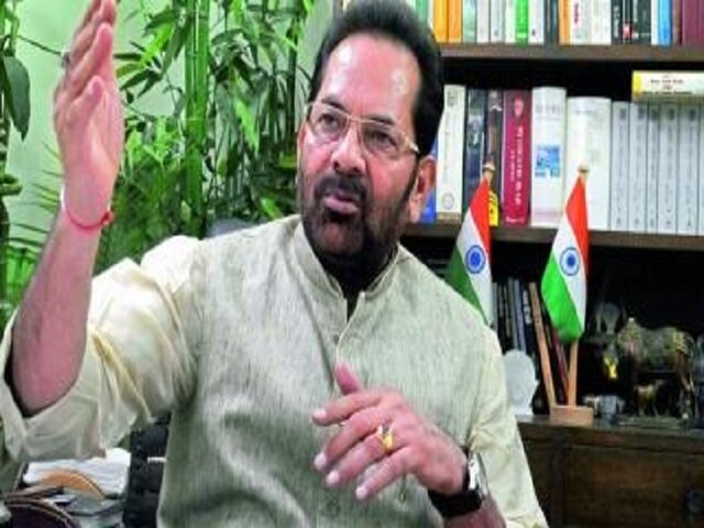 Minority Doesn't Mean Only Muslims, SaysMinority Affairs Minister Mukhtar Abbas Naqvi