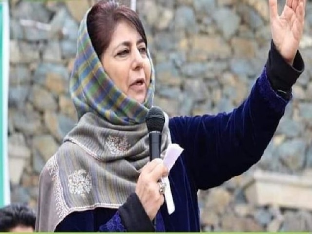 Mehbooba Mufti appeals Centre, militants to announce ceasefire during Ramzan