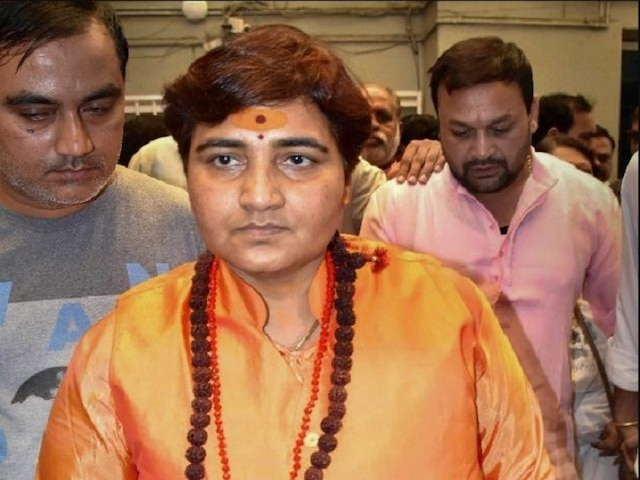 Lok Sabha elections 2019, EC issues fresh notice to Sadhvi Pragya over complaint of campaigning during 72-hour ban