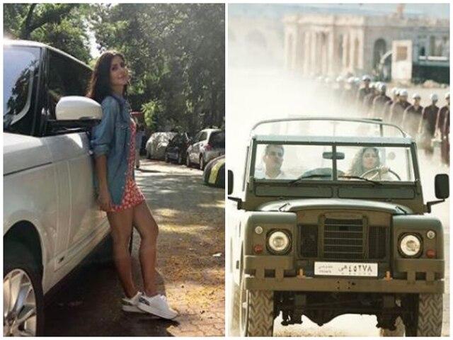 'Bharat' actress Katrina Kaif flaunts new car, shows off driving skill!