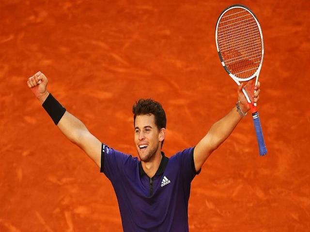 Madrid Open Dominic Thiem knocks outs Roger Federer to join Novak Djokovic, Rafael Nadal in semis