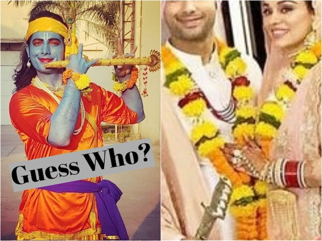 Newly married TV actor Sharad Malhotra turns into Lord Krishna in his latest post!