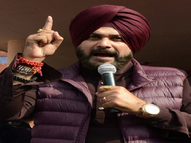 Navjot Singh Sidhu again injures his vocal cords due to 'continuous speech' in election rallies