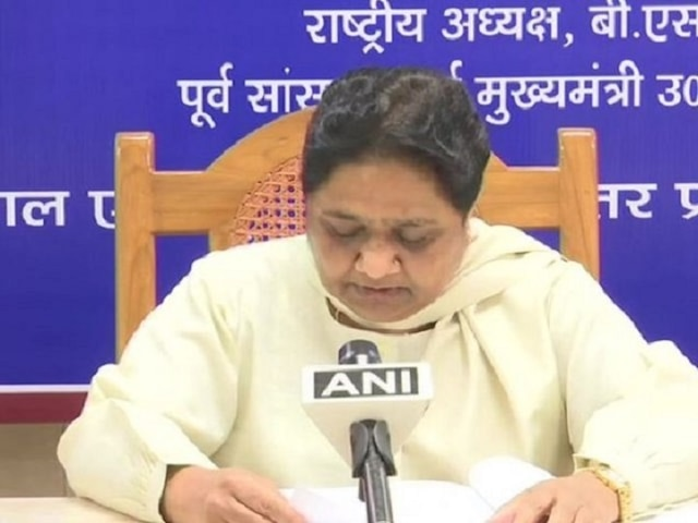 2019 LS polls Modi govt's ship is sinking even BJP's ally RSS has stopped supporting them says Mayawati