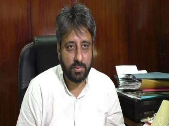 AAP MLA Amanatullah Khan, supporters booked for 'assaulting' man