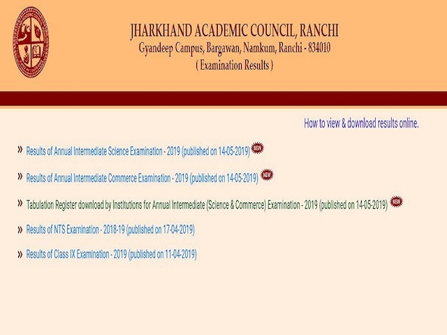 JAC 12th Result 2019 declared at jacresults.com: Amisha Kumari emerges state topper with 93% marks