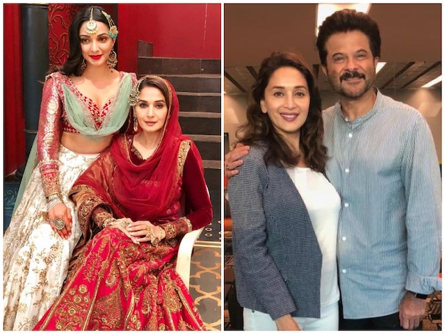 B-Town wishes 'graceful' Madhuri Dixit a happy 52nd birthday!