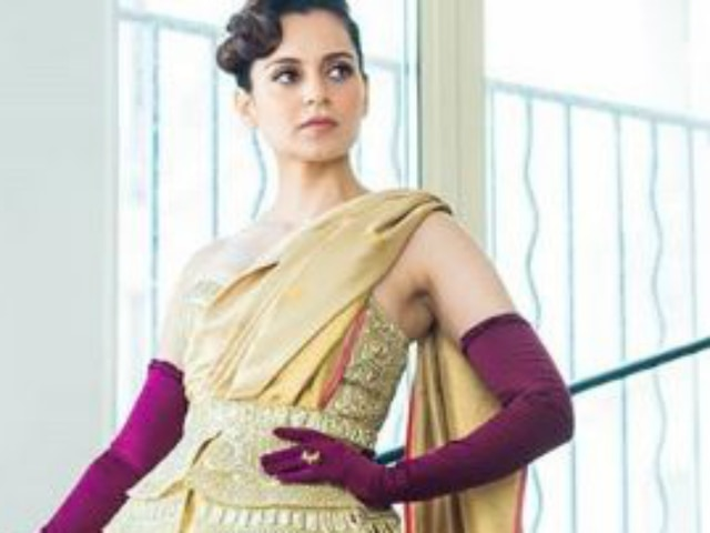 Cannes Film Festival 2019 - Kangana Ranaut stuns in a golden saree for her red carpet appearance! SEE PIC!