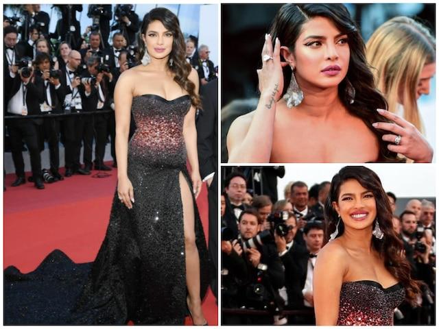 Cannes Film Festival 2019 - Priyanka Chopra looks effortlessly stylish as she makes red carpet debut for Rocketman screening! SEE PICS!