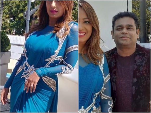 Cannes 2019: After Hina Khan, comedian Krushna Abhishek's wife Kashmera Shah makes her Cannes debut, meets AR Rahman at the French gala!