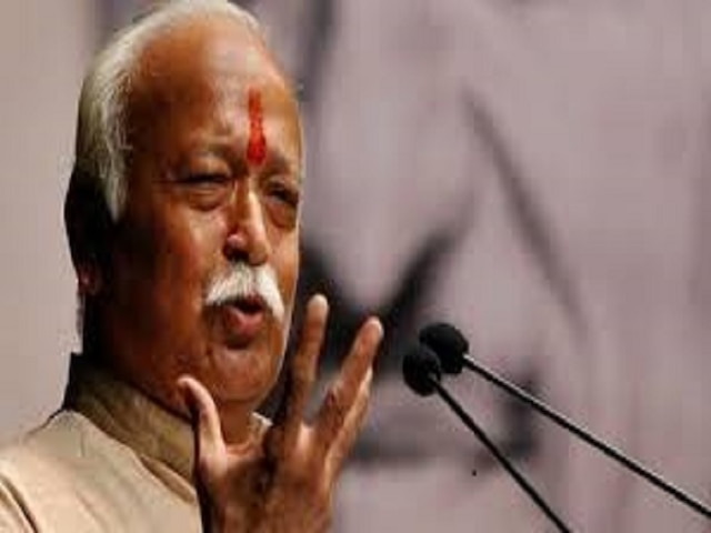 Car in RSS chief Mohan Bhagwat's convoy overturns