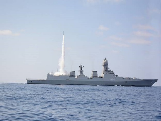Indian Navy successfully test-fires MRSAM missile