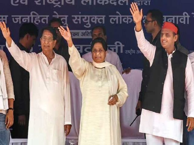 ABP Exit Poll 2019 SP-BSP-RLD Mahagatbandhan projected to sweep UP with 56 seats BJP to suffer massive dent