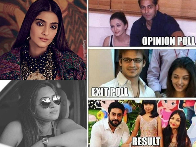 Sonam Kapoor, Jwala Gutta & fans lash out at Vivek Oberoi for Exit Poll meme on Aishwarya Rai Bachchan-Salman Khan