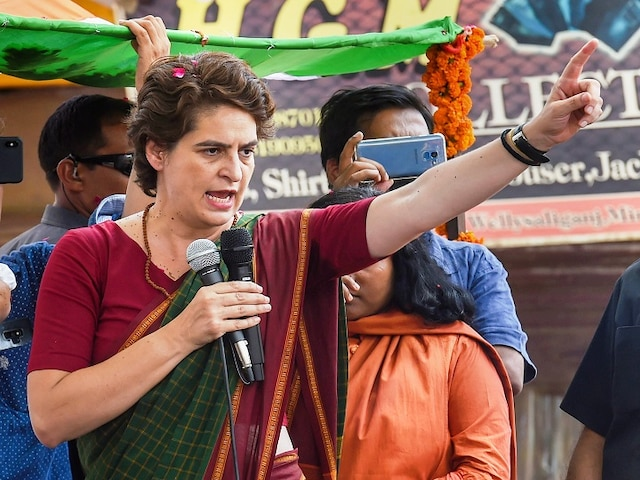 Priyanka Slams Centre For Economic Slowdown; Also Flays UP Government For Increasing VAT On Petrol, Diesel