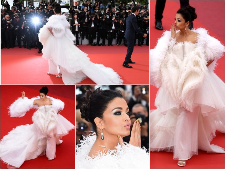 Cannes 2019: Aishwarya Rai Bachchan poses in a white ...