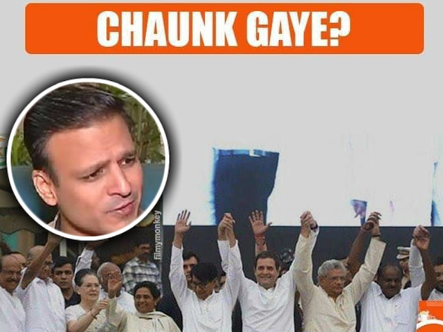 Election Results 2019: Vivek Oberoi shares yet another meme, this time on opposition leaders including Rahul Gandhi