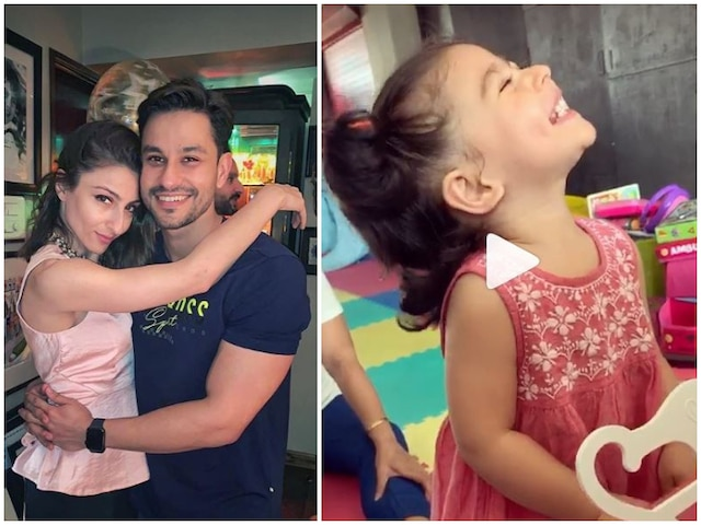 Baby Inaaya Naumi Kemmu sings happy birthday to 'papa' Kunal Kemmu! Watch VIDEO!
