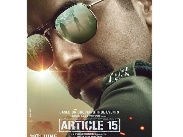 First look poster of Ayushmann Khurrana from 'Article 15' unveiled!