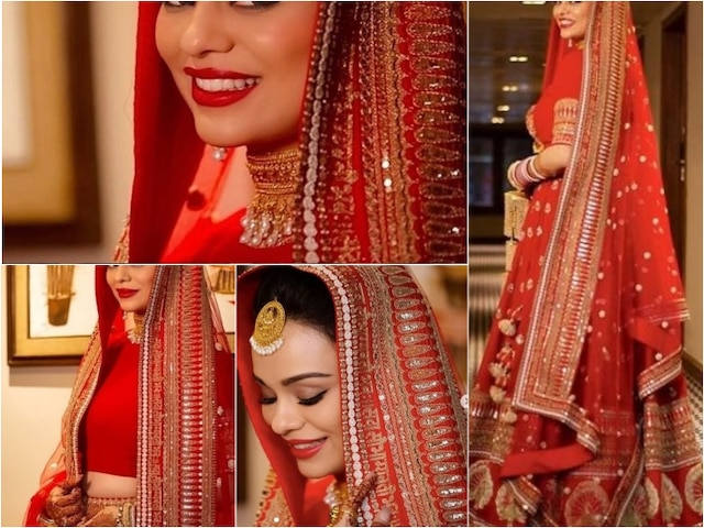 Newlywed TV actor Sharad Malhotra's wife Ripci Bhatia shares unseen PICS from her WEDDING as a STUNNING bride!