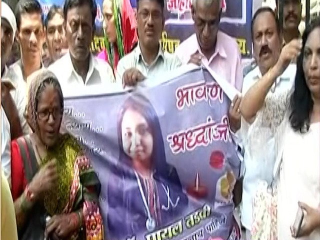 Payal Tadvi suicide case- 3 accused Doctors in police remand till May 31