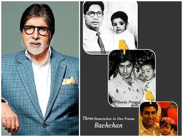 Amitabh Bachchan captures 3 Bachchan generations in one frame! SEE PIC!