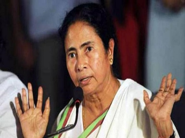 BJP lighting 'naked pyres of terror' in Bengal, claims Mamata