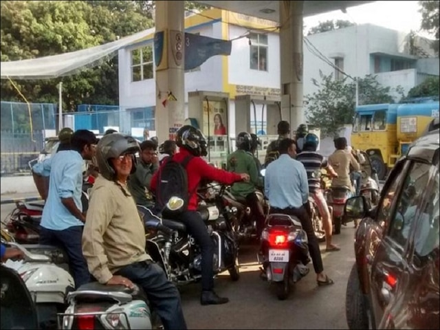 Noida's 'No Helmet, No Petrol' rule: Blatant violators continue to get fuel