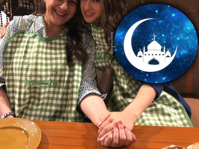 Eid-ul-fitr 2019: Sara Ali Khan celebrates with mom Amrita Singh, posts picture from their dinner
