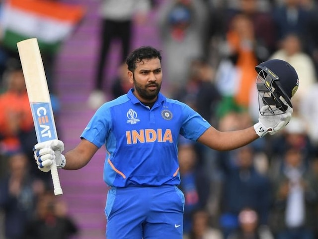 WATCH: Rohit Sharma breaks Sourav Ganguly's record with his 23rd ODI century